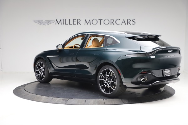 New 2021 Aston Martin DBX for sale $214,986 at Rolls-Royce Motor Cars Greenwich in Greenwich CT 06830 3