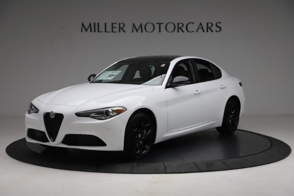 New 2021 Alfa Romeo Giulia Q4 for sale Sold at Rolls-Royce Motor Cars Greenwich in Greenwich CT 06830 2