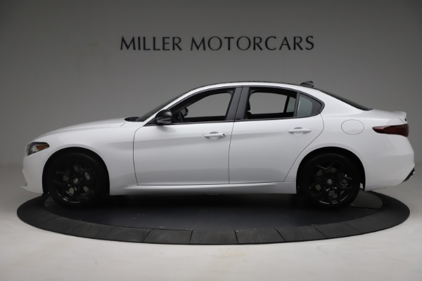 New 2021 Alfa Romeo Giulia Q4 for sale Sold at Rolls-Royce Motor Cars Greenwich in Greenwich CT 06830 3