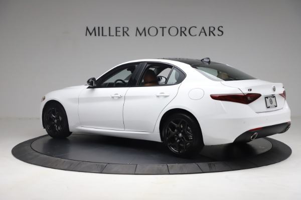 New 2021 Alfa Romeo Giulia Q4 for sale Sold at Rolls-Royce Motor Cars Greenwich in Greenwich CT 06830 4