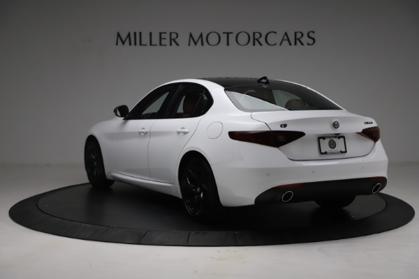 New 2021 Alfa Romeo Giulia Q4 for sale Sold at Rolls-Royce Motor Cars Greenwich in Greenwich CT 06830 5