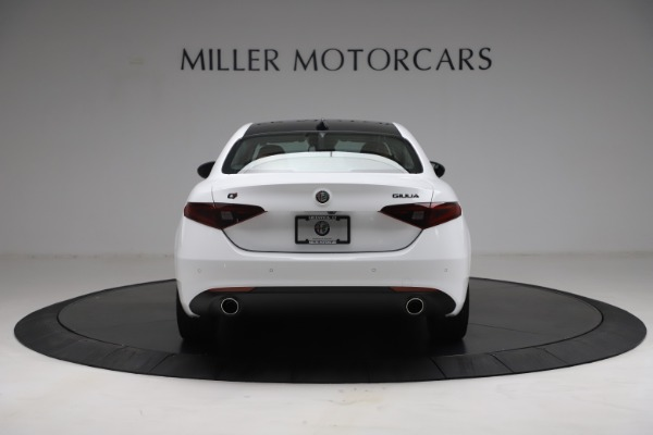 New 2021 Alfa Romeo Giulia Q4 for sale Sold at Rolls-Royce Motor Cars Greenwich in Greenwich CT 06830 6