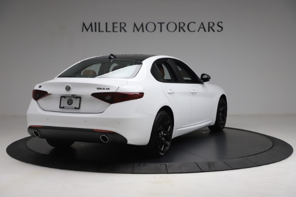 New 2021 Alfa Romeo Giulia Q4 for sale Sold at Rolls-Royce Motor Cars Greenwich in Greenwich CT 06830 7