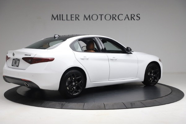 New 2021 Alfa Romeo Giulia Q4 for sale Sold at Rolls-Royce Motor Cars Greenwich in Greenwich CT 06830 8