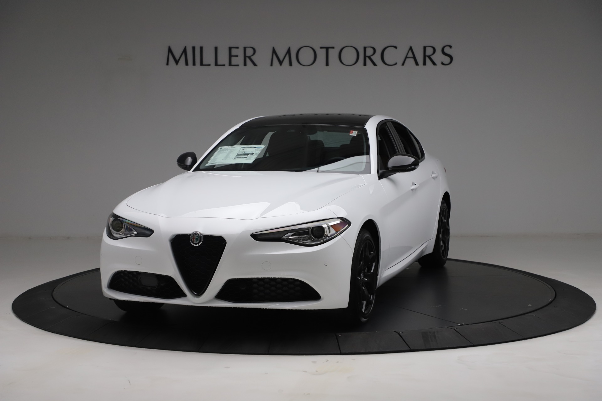 New 2021 Alfa Romeo Giulia Q4 for sale Sold at Rolls-Royce Motor Cars Greenwich in Greenwich CT 06830 1