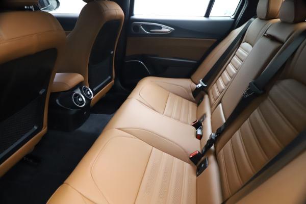New 2021 Alfa Romeo Giulia Ti Sport Q4 for sale $54,050 at Rolls-Royce Motor Cars Greenwich in Greenwich CT 06830 19