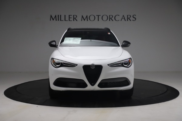 New 2021 Alfa Romeo Stelvio Ti Sport Q4 for sale $54,095 at Rolls-Royce Motor Cars Greenwich in Greenwich CT 06830 13