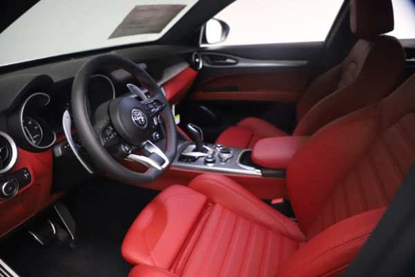 New 2021 Alfa Romeo Stelvio Ti Sport Q4 for sale $54,095 at Rolls-Royce Motor Cars Greenwich in Greenwich CT 06830 14