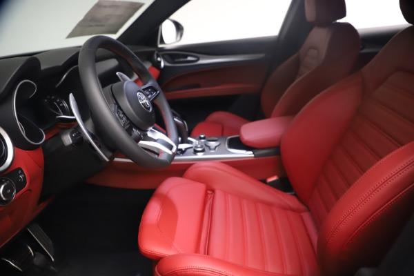 New 2021 Alfa Romeo Stelvio Ti Sport Q4 for sale $54,095 at Rolls-Royce Motor Cars Greenwich in Greenwich CT 06830 15