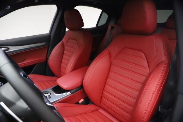 New 2021 Alfa Romeo Stelvio Ti Sport Q4 for sale $54,095 at Rolls-Royce Motor Cars Greenwich in Greenwich CT 06830 16