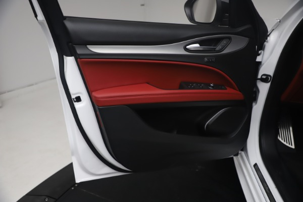 New 2021 Alfa Romeo Stelvio Ti Sport Q4 for sale $54,095 at Rolls-Royce Motor Cars Greenwich in Greenwich CT 06830 17