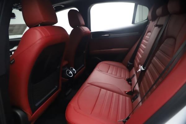 New 2021 Alfa Romeo Stelvio Ti Sport Q4 for sale $54,095 at Rolls-Royce Motor Cars Greenwich in Greenwich CT 06830 19