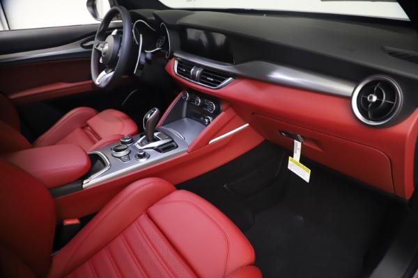 New 2021 Alfa Romeo Stelvio Ti Sport Q4 for sale $54,095 at Rolls-Royce Motor Cars Greenwich in Greenwich CT 06830 22