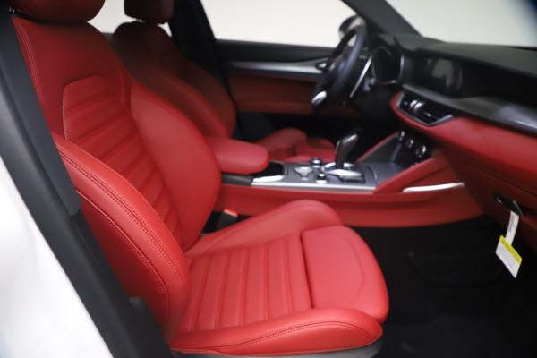 New 2021 Alfa Romeo Stelvio Ti Sport Q4 for sale $54,095 at Rolls-Royce Motor Cars Greenwich in Greenwich CT 06830 23