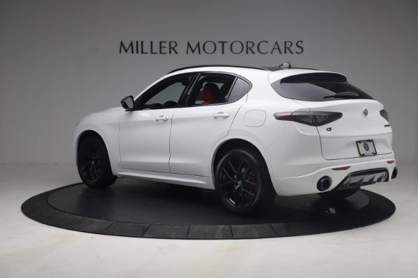 New 2021 Alfa Romeo Stelvio Ti Sport Q4 for sale $54,095 at Rolls-Royce Motor Cars Greenwich in Greenwich CT 06830 5