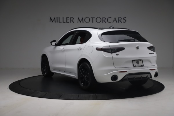 New 2021 Alfa Romeo Stelvio Ti Sport Q4 for sale $54,095 at Rolls-Royce Motor Cars Greenwich in Greenwich CT 06830 6
