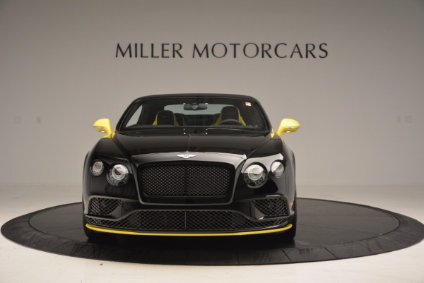 New 2017 Bentley Continental GT Speed Black Edition Convertible for sale Sold at Rolls-Royce Motor Cars Greenwich in Greenwich CT 06830 10