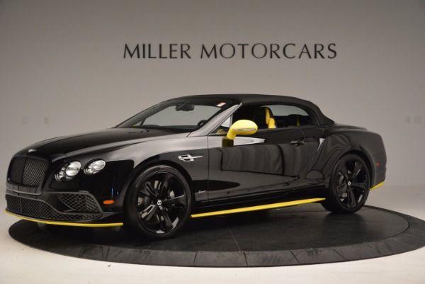 New 2017 Bentley Continental GT Speed Black Edition Convertible for sale Sold at Rolls-Royce Motor Cars Greenwich in Greenwich CT 06830 11