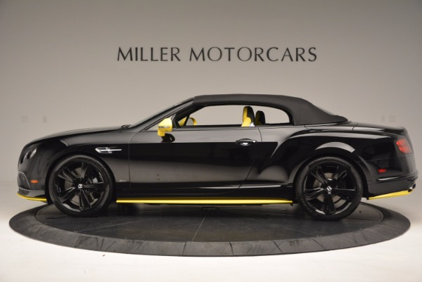New 2017 Bentley Continental GT Speed Black Edition Convertible for sale Sold at Rolls-Royce Motor Cars Greenwich in Greenwich CT 06830 12