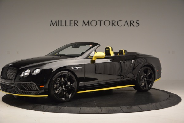 New 2017 Bentley Continental GT Speed Black Edition Convertible for sale Sold at Rolls-Royce Motor Cars Greenwich in Greenwich CT 06830 2