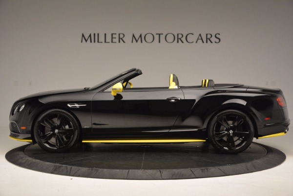 New 2017 Bentley Continental GT Speed Black Edition Convertible for sale Sold at Rolls-Royce Motor Cars Greenwich in Greenwich CT 06830 3