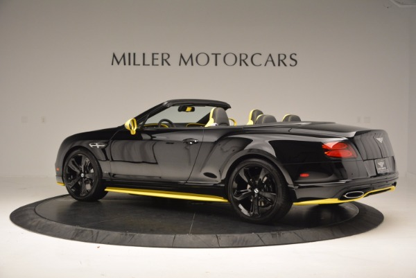 New 2017 Bentley Continental GT Speed Black Edition Convertible for sale Sold at Rolls-Royce Motor Cars Greenwich in Greenwich CT 06830 4