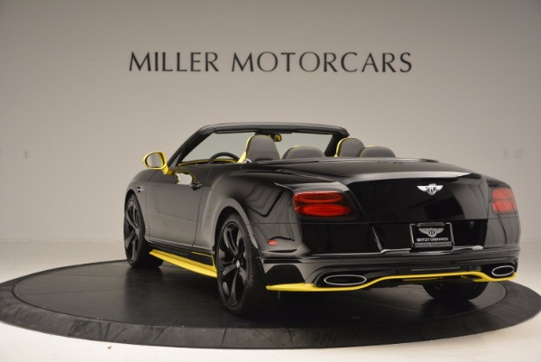New 2017 Bentley Continental GT Speed Black Edition Convertible for sale Sold at Rolls-Royce Motor Cars Greenwich in Greenwich CT 06830 5