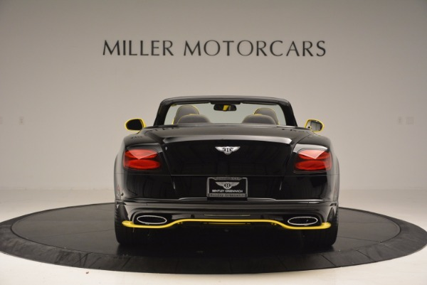 New 2017 Bentley Continental GT Speed Black Edition Convertible for sale Sold at Rolls-Royce Motor Cars Greenwich in Greenwich CT 06830 6