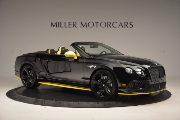 New 2017 Bentley Continental GT Speed Black Edition Convertible for sale Sold at Rolls-Royce Motor Cars Greenwich in Greenwich CT 06830 7