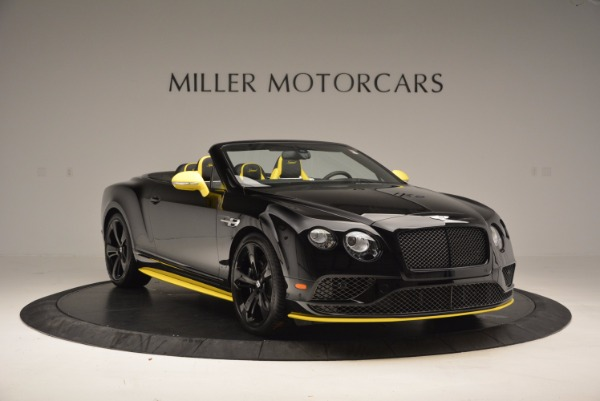 New 2017 Bentley Continental GT Speed Black Edition Convertible for sale Sold at Rolls-Royce Motor Cars Greenwich in Greenwich CT 06830 8