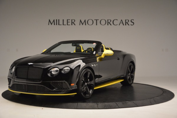 New 2017 Bentley Continental GT Speed Black Edition Convertible for sale Sold at Rolls-Royce Motor Cars Greenwich in Greenwich CT 06830 1