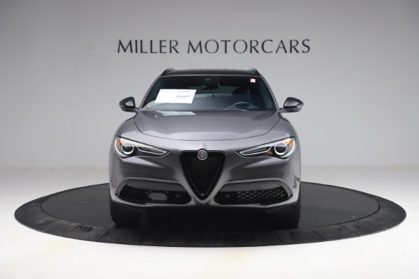 New 2021 Alfa Romeo Stelvio Ti Sport Q4 for sale $57,200 at Rolls-Royce Motor Cars Greenwich in Greenwich CT 06830 13