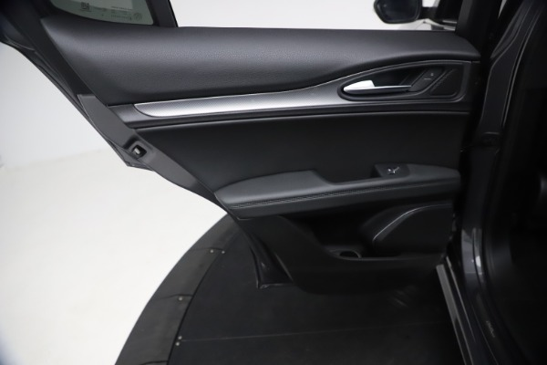 New 2021 Alfa Romeo Stelvio Ti Sport Q4 for sale $57,200 at Rolls-Royce Motor Cars Greenwich in Greenwich CT 06830 16