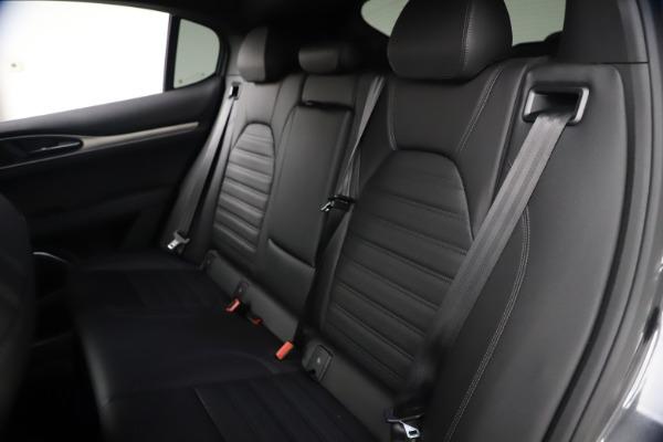 New 2021 Alfa Romeo Stelvio Ti Sport Q4 for sale $57,200 at Rolls-Royce Motor Cars Greenwich in Greenwich CT 06830 19