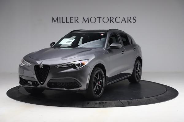 New 2021 Alfa Romeo Stelvio Ti Sport Q4 for sale $57,200 at Rolls-Royce Motor Cars Greenwich in Greenwich CT 06830 2