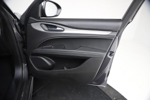 New 2021 Alfa Romeo Stelvio Ti Sport Q4 for sale $57,200 at Rolls-Royce Motor Cars Greenwich in Greenwich CT 06830 20