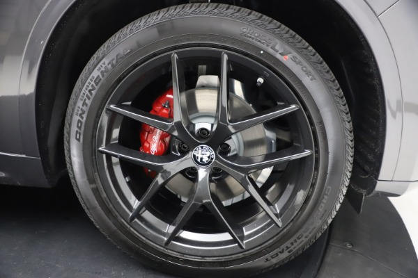 New 2021 Alfa Romeo Stelvio Ti Sport Q4 for sale $57,200 at Rolls-Royce Motor Cars Greenwich in Greenwich CT 06830 26