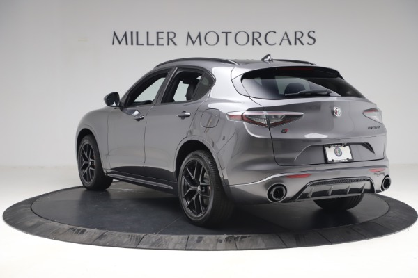 New 2021 Alfa Romeo Stelvio Ti Sport Q4 for sale $57,200 at Rolls-Royce Motor Cars Greenwich in Greenwich CT 06830 5