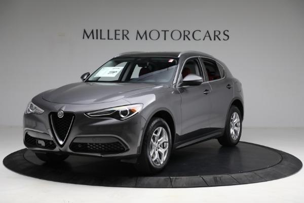 New 2021 Alfa Romeo Stelvio Q4 for sale $50,445 at Rolls-Royce Motor Cars Greenwich in Greenwich CT 06830 2