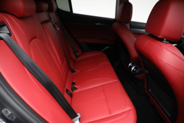 New 2021 Alfa Romeo Stelvio Q4 for sale $50,445 at Rolls-Royce Motor Cars Greenwich in Greenwich CT 06830 22