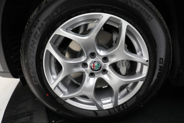 New 2021 Alfa Romeo Stelvio Q4 for sale $50,445 at Rolls-Royce Motor Cars Greenwich in Greenwich CT 06830 23