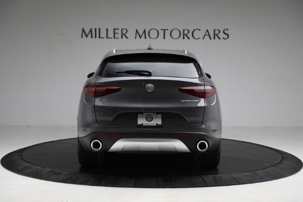 New 2021 Alfa Romeo Stelvio Q4 for sale $50,445 at Rolls-Royce Motor Cars Greenwich in Greenwich CT 06830 6