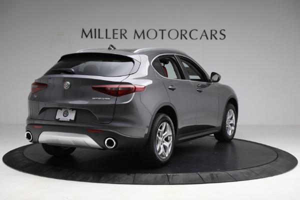 New 2021 Alfa Romeo Stelvio Q4 for sale $50,445 at Rolls-Royce Motor Cars Greenwich in Greenwich CT 06830 7
