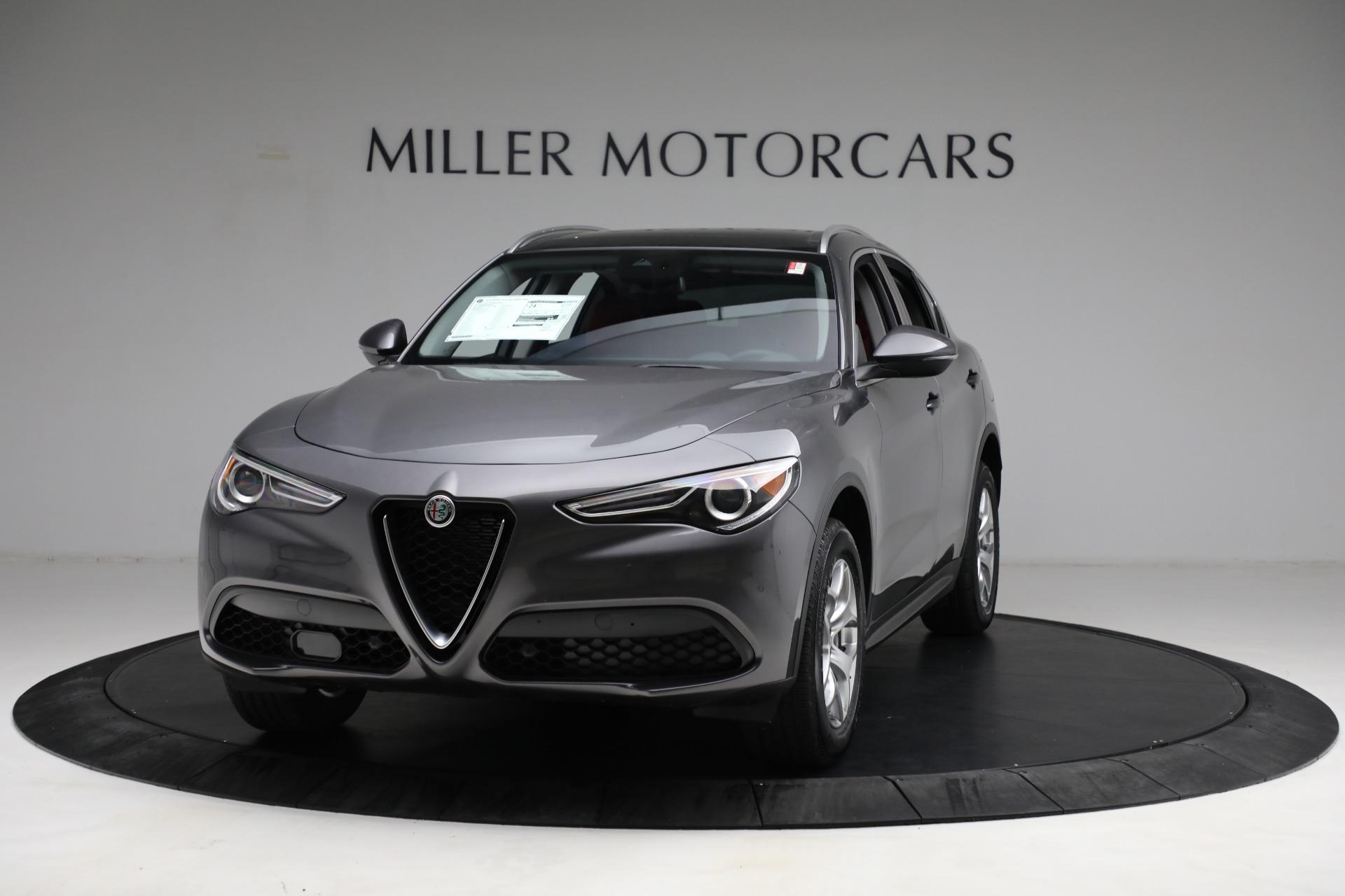 New 2021 Alfa Romeo Stelvio Q4 for sale $50,445 at Rolls-Royce Motor Cars Greenwich in Greenwich CT 06830 1