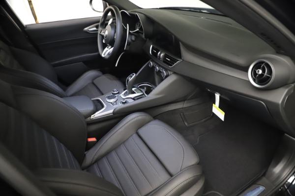 New 2021 Alfa Romeo Giulia Ti Sport Q4 for sale Call for price at Rolls-Royce Motor Cars Greenwich in Greenwich CT 06830 21
