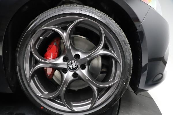 New 2021 Alfa Romeo Giulia Ti Sport Q4 for sale Call for price at Rolls-Royce Motor Cars Greenwich in Greenwich CT 06830 25