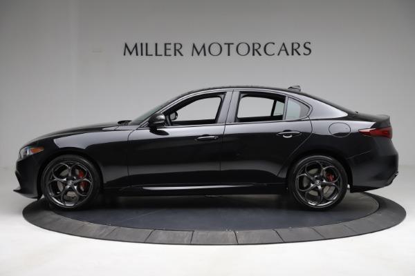 New 2021 Alfa Romeo Giulia Ti Sport Q4 for sale Call for price at Rolls-Royce Motor Cars Greenwich in Greenwich CT 06830 4