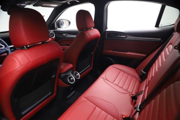 New 2021 Alfa Romeo Stelvio Ti Sport Q4 for sale $57,200 at Rolls-Royce Motor Cars Greenwich in Greenwich CT 06830 18