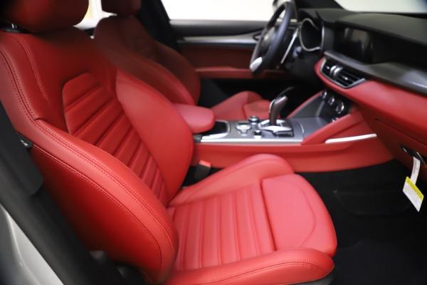 New 2021 Alfa Romeo Stelvio Ti Sport Q4 for sale $57,200 at Rolls-Royce Motor Cars Greenwich in Greenwich CT 06830 22