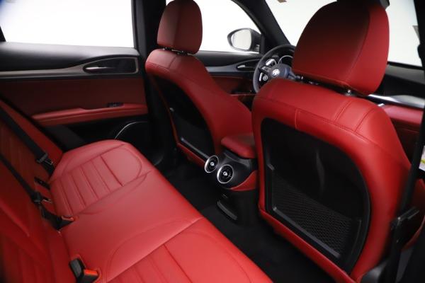 New 2021 Alfa Romeo Stelvio Ti Sport Q4 for sale $57,200 at Rolls-Royce Motor Cars Greenwich in Greenwich CT 06830 24